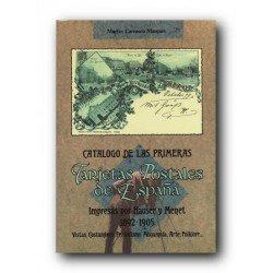 Catálogo de las Primeras Tarjetas Postales de España