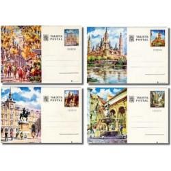 1973 España. Entero Postales Turismo (Edif.101/104)**