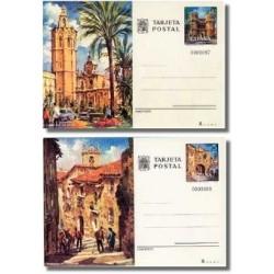 1974 España. Entero Postales Turismo (Edif.105/106)**