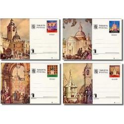1975 España. Entero Postales Expo. Mundial (Edif.107/110) **
