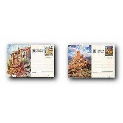1975 España. Entero Postales Turismo (Edif.111/112)**