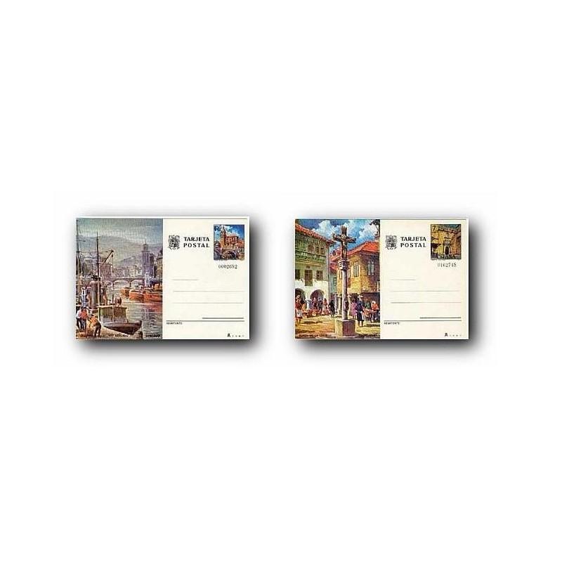 1976 España. Entero Postales Turismo (Edif.113/114)**