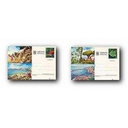 1977 España. Entero Postales Turismo (Edif.115/116)**