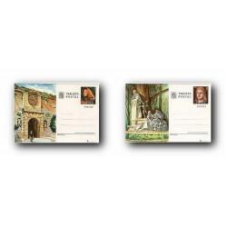 1978 España. Entero Postales Turismo (Edif.117/118)**