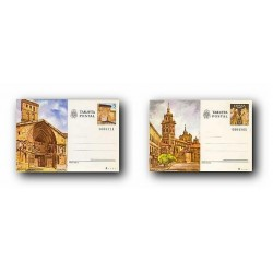 1980 España. Entero Postales Turismo (Edif.123/124)**