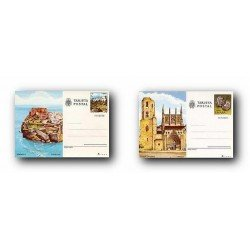 1981 España. Entero Postales Turismo (Edif.125/126)**