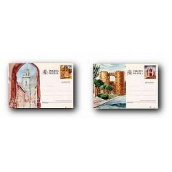 1983 España. Entero Postales Turismo (Edif.133/134)**