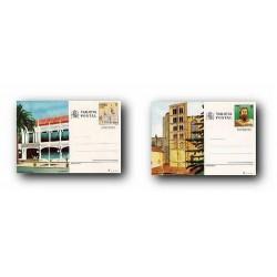 1985 España. Entero Postales Turismo (Edif.139/140)**