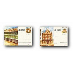 1986 España. Entero Postales Turismo (Edif.141/142)**