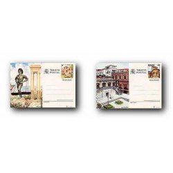 1987 España. Entero Postales Turismo (Edif.143/144)**