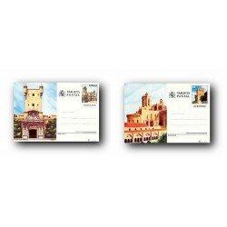 1988 España. Entero Postales Turismo (Edif.145/146)**