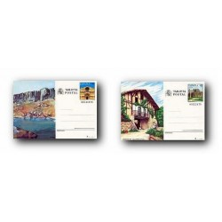 1989 España. Entero Postales Turismo (Edif.147/148)**