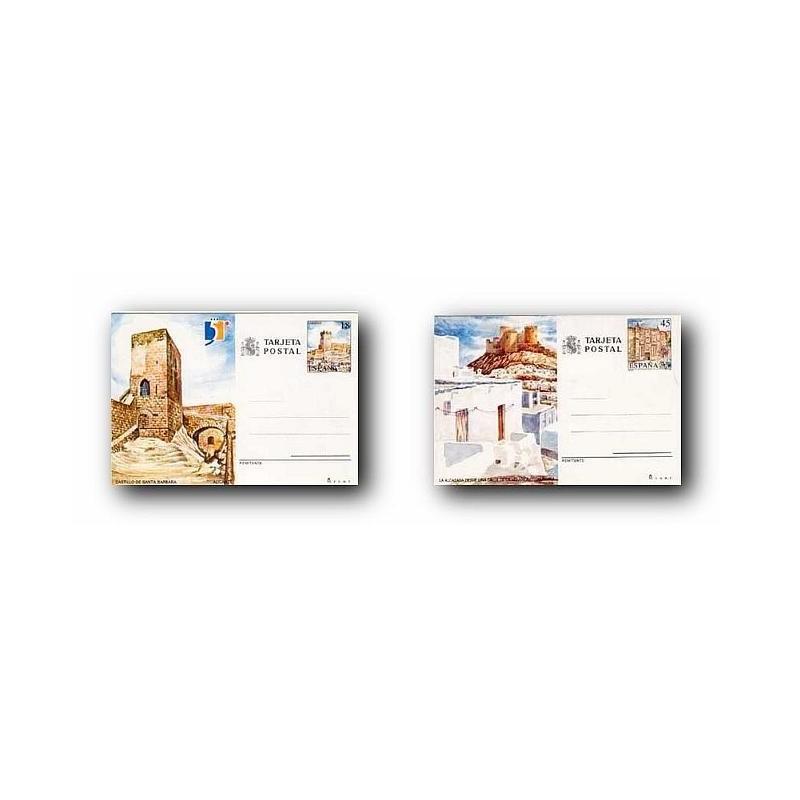 1990 España. Entero Postales Turismo (Edif.149/150)**