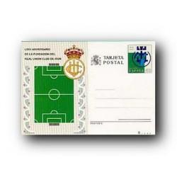 1991 España. Entero Postales Fútbol (Edif.153)**