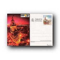 1992 España. Entero Postales Expo'92 (Edif.154)**