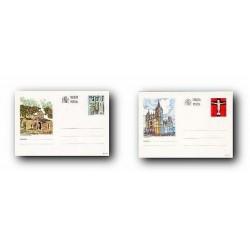 1993 España. Entero Postales Turismo (Edif.155/156)**
