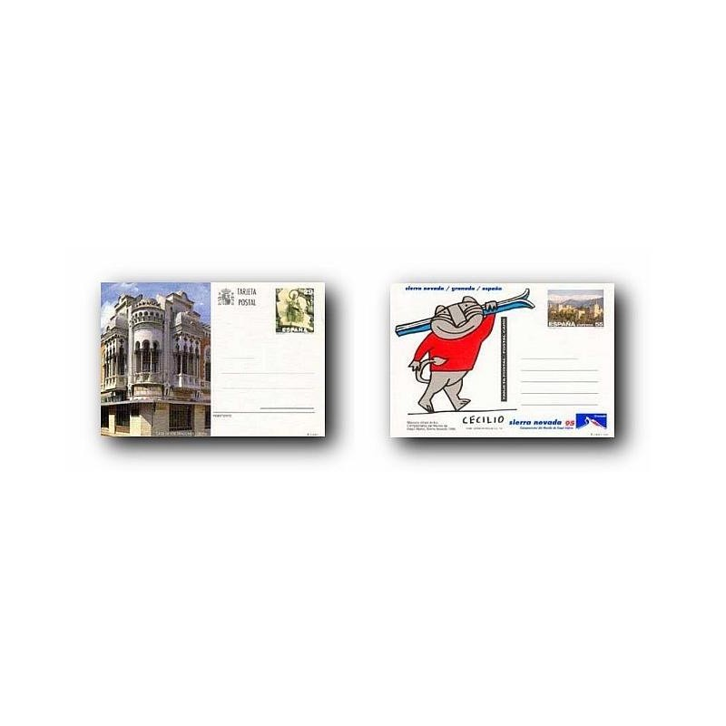 1994 España. Entero Postales Turismo (Edif.157/158)**