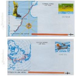 1981 España. Aerogramas (Edif.201/202)**
