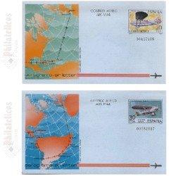 1982 España. Aerogramas (Edif.203/204)**