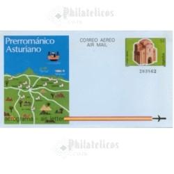 1987 España. Aerograma (Edif.212)**