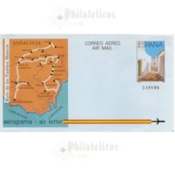 1988 España. Aerograma (Edif.213)**