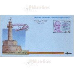 1991 España. Aerograma (Edif.216)**