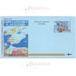 1995 España. Aerograma (Edif.220)**