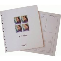 Juego de Hojas Edifil España 1997/2001 B4