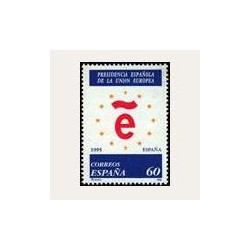 1995 Sellos de España (3385). Presidencia Española de la U.E.