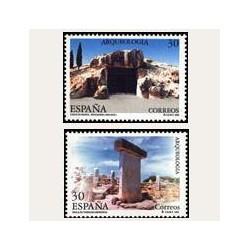 1995 Sellos de España (3395/96). Arqueología.