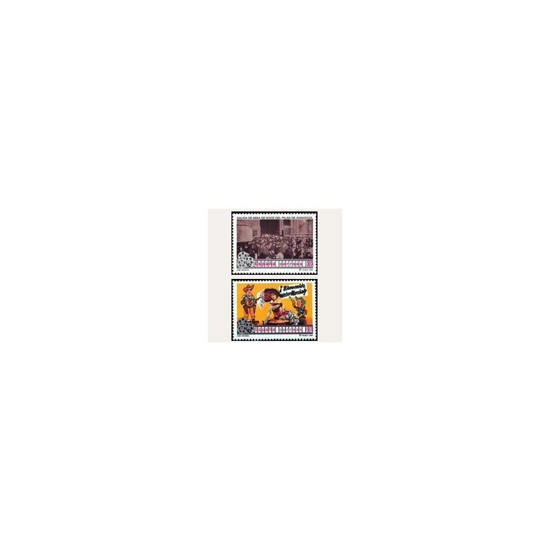 1996 España. Cine Español (Edif.3406/07) **