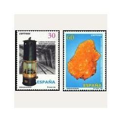 1996 Sellos de España (3408/09). Minerales de España.