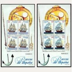 1996 Sellos de España (3415/16). Barcos de Época.