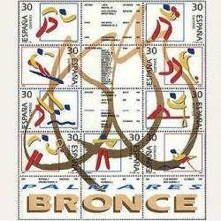 1996 España. Deportes. Olímpicos de Bronce (Edif.3418/26) **