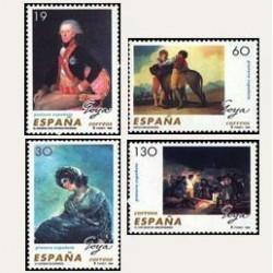1996 España. Pintura Española - Goya (Edif.3437/40) **