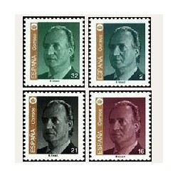 1997 Sellos de España (3465/68). S. M. D. Juan Carlos I.