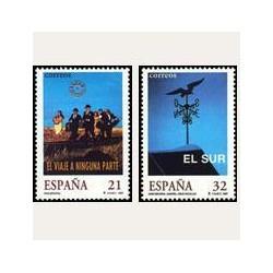 1997 Sellos de España (3472/73). Cine Español.