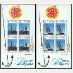 1997 Sellos de España (3477/78). Barcos de Época.