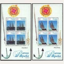 1997 España. Barcos de Época (Edif.3477/78)**