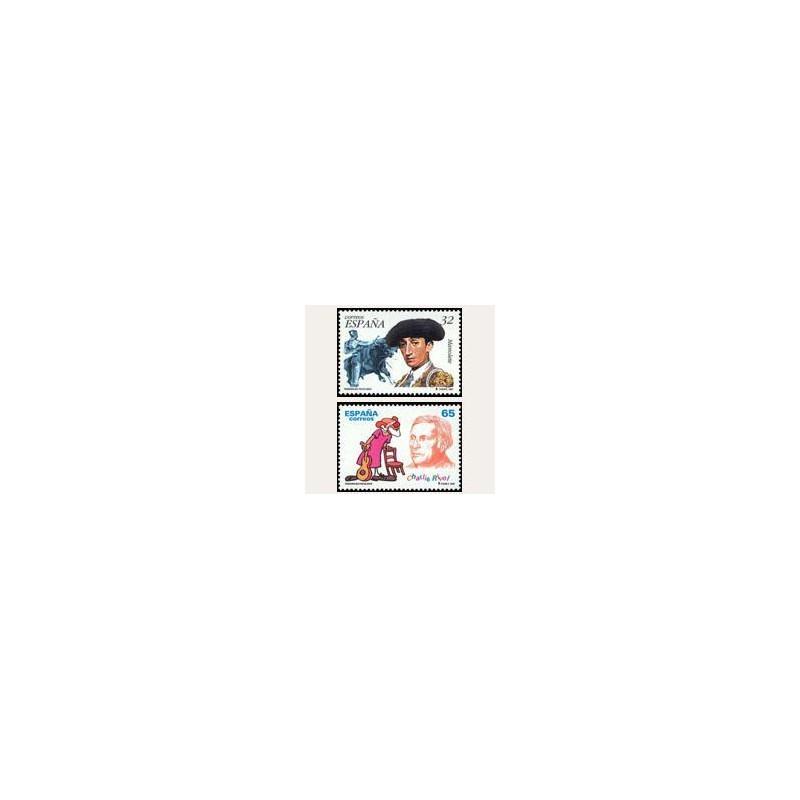 1997 España. Personajes Populares (Edif.3488/89)**