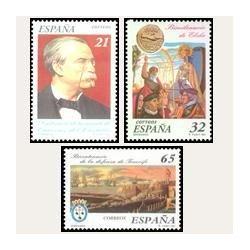 1997 España. Centenarios (Edif.3498/500)**