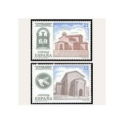 1997 Sellos de España (3508/09). Patrimonio Mundial de la Humanidad.