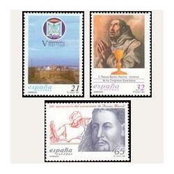 1997 Sellos de España (3505/07). Efemérides.
