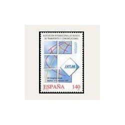 1997 España. Asociación de Museos de Transportes y Com. (Edif.35