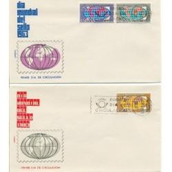 1963 SPD España. Día Mundial del Sello. Edif.1509/11