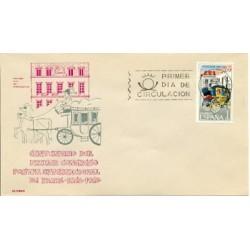 1963 SPD España. Conferencia Postal Internacional. Edif.1508