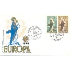 1963 SPD España. Europa-CEPT. Edif.1519/20