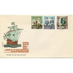 1963 SPD España. Congreso Intituciones Hispánicas. Edif.1513/15