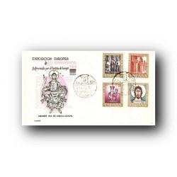 1961 SPD España. Arte Románico. (Edif.1365/68)