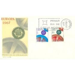 1967 SPD España. Europa-CEPT. (Edif.1795/6)